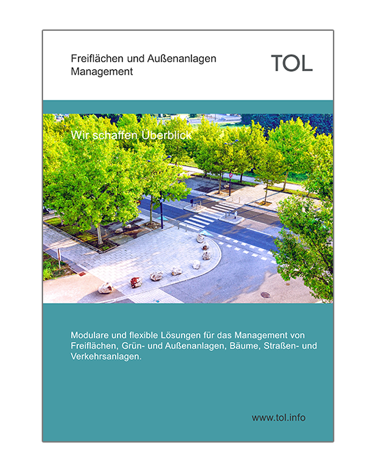 Freiflächenmanagement Software - Informationsunterlagen der TOL GmbH